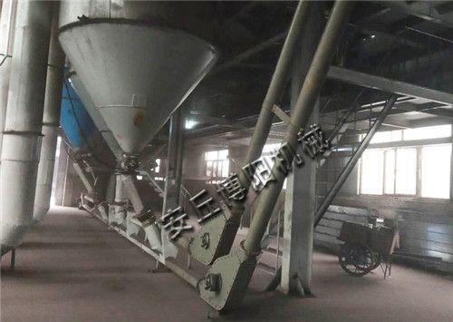 粉煤灰管链输送机使用现场