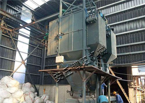 氧化锌吨袋拆包机使用现场