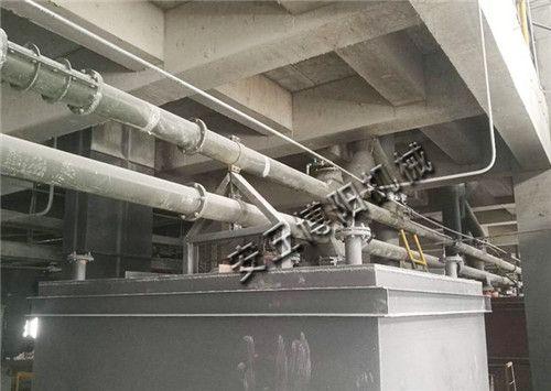 电石粉管链输送机使用现场