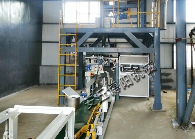 全自动包装机+码垛机械手生产线