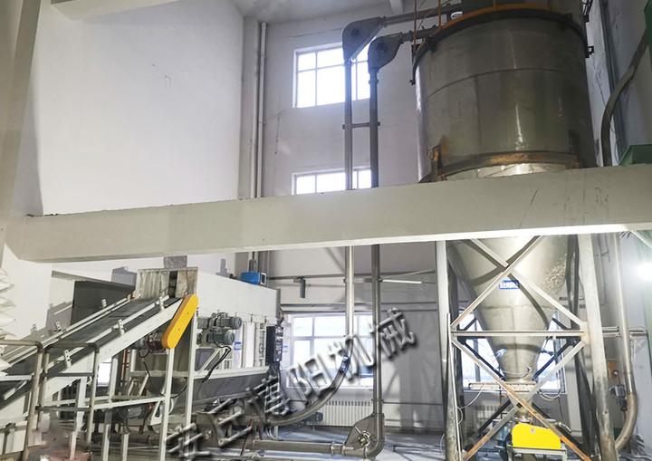 氯化钾自动拆包投料站使用现场